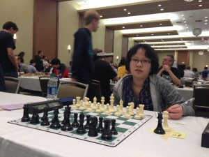 Maggie at the Chicago Open