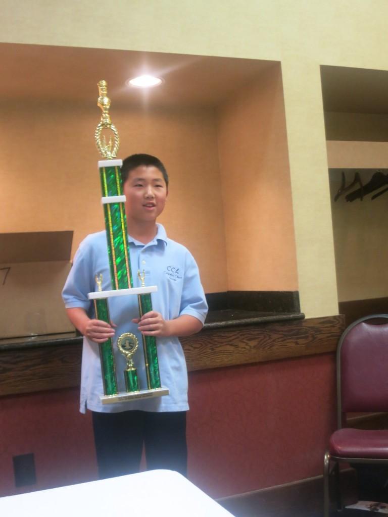 Luke Xie -- 7 time  grade level champion