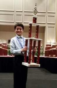 2nd place 2014 National Grade level Chmp 6th grade