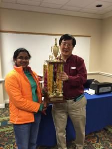 Meghana All-Girls MD champion
