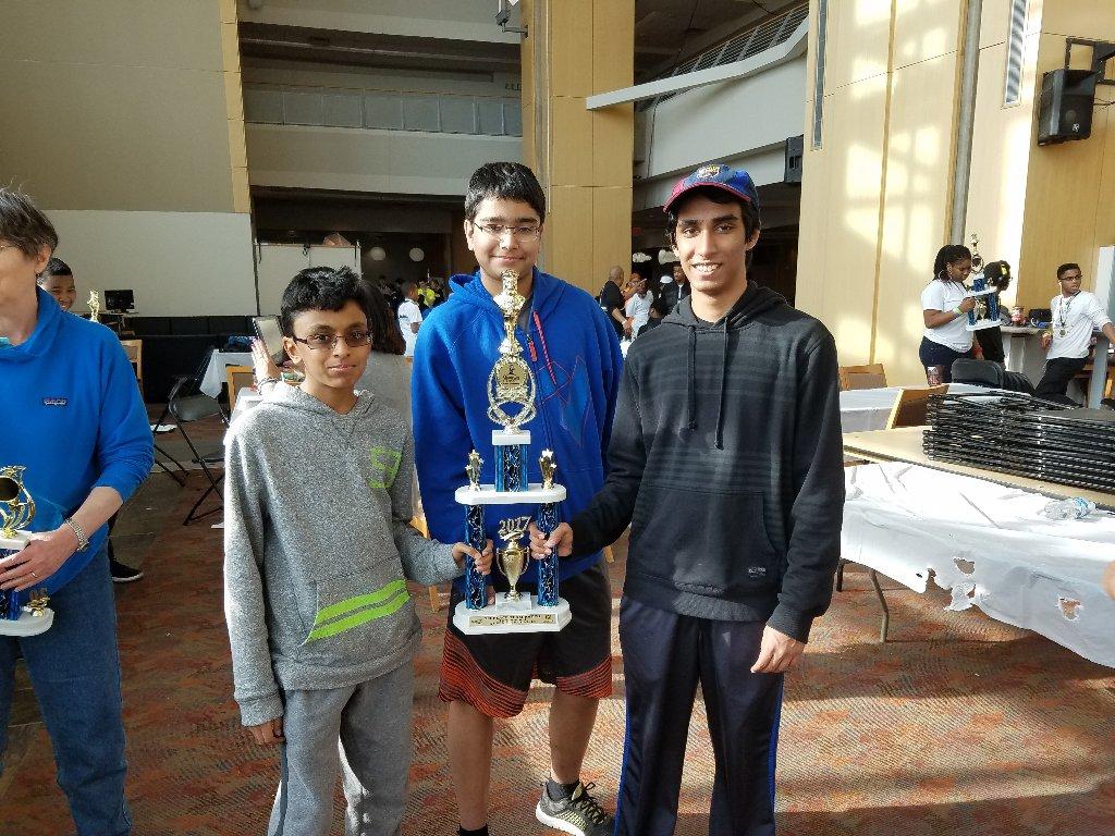 K-12 Open; 1st place
